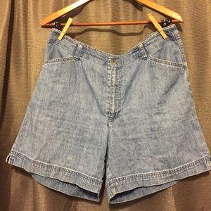 Mom jean shorts Liz Claiborne denim shorts